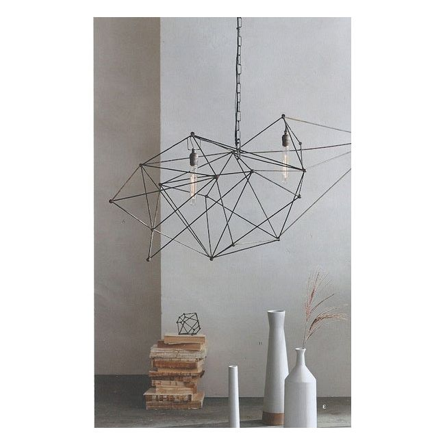 Maquette Double Chandelier by Roost | ROL327
