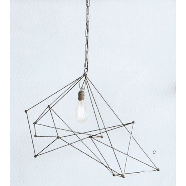Maquette wide single chandelier by roost rol325 aloadofball Images
