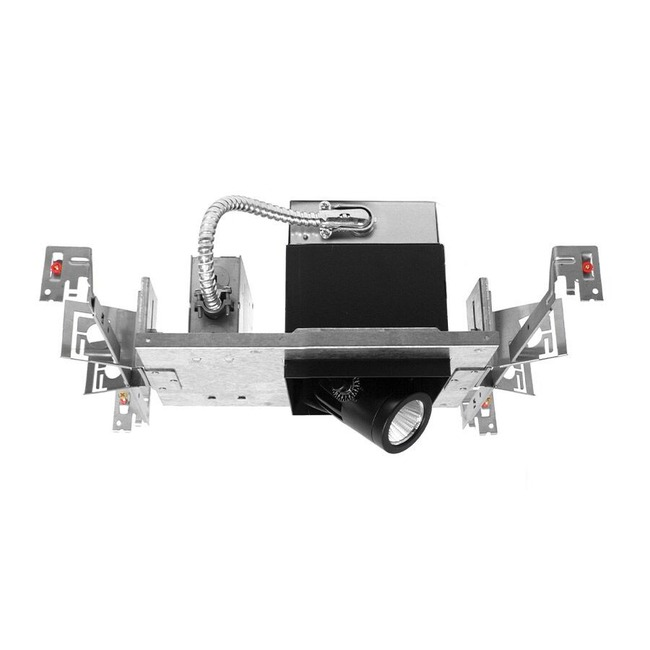 Precision Multiples 85CRI 010V NIC Housing by WAC Lighting | MT-4LD216N-S27-BK