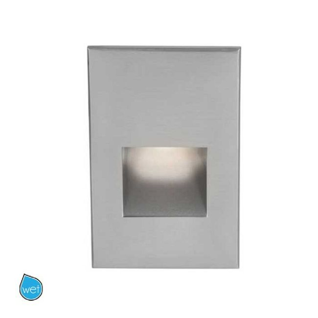 120V LED200 Marine Vertical Scoop Step / Wall Light  by WAC Lighting