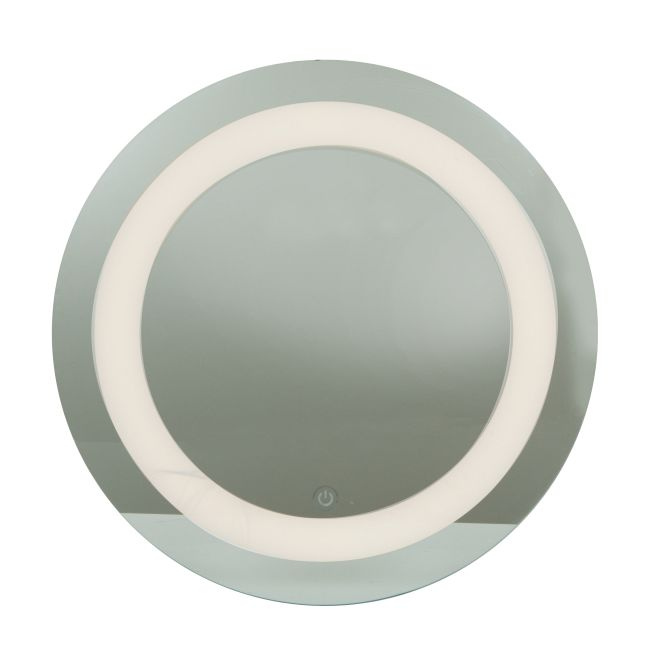Spa Round Dimmable LED Mirror  by Access