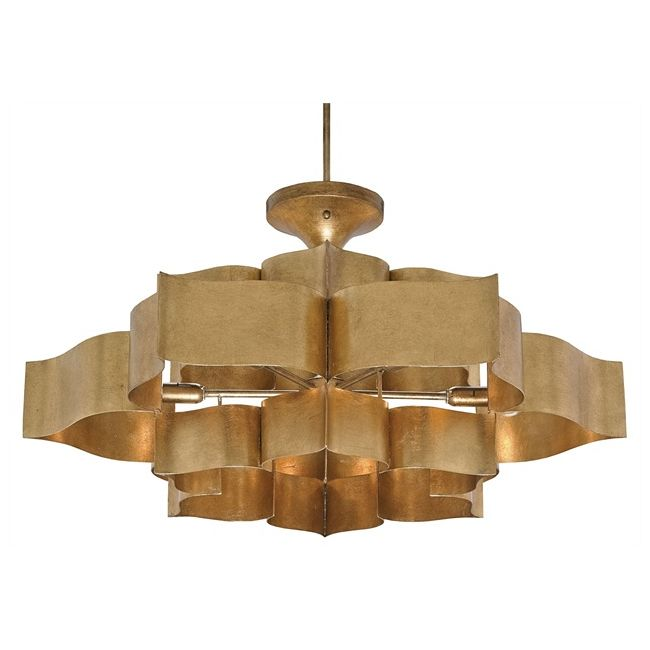 Grand Lotus Chandelier  by Currey and Company