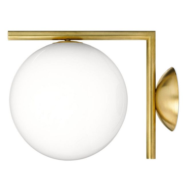IC Wall Sconce/Ceiling Semi-Flush Mount  by Flos Lighting </br> Designer: Linc Thelen
