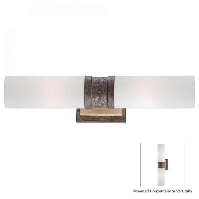 Compositions Wall Sconce  by Minka Lavery