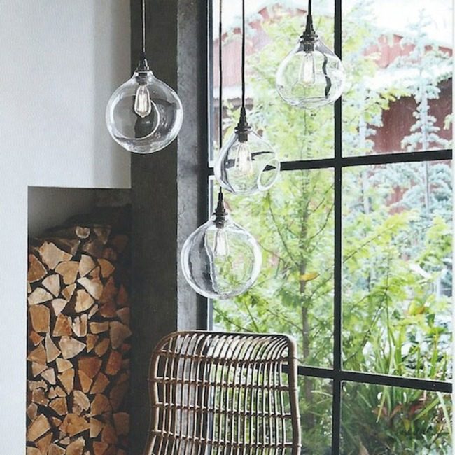 Bubble Lamp Pendant or Wall  by Roost