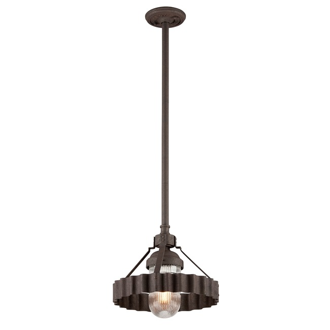 Canary Wharf Outdoor Pendant  by Troy Lighting