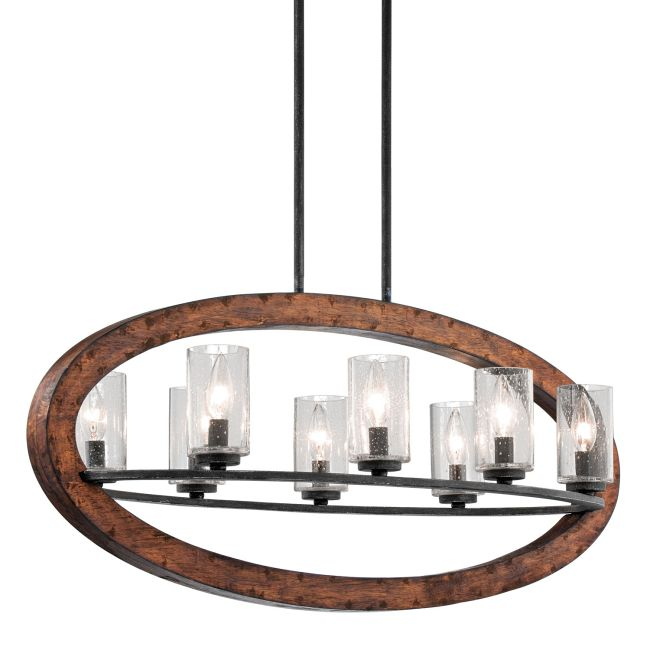 Grand Bank Oval Chandelier  by Kichler