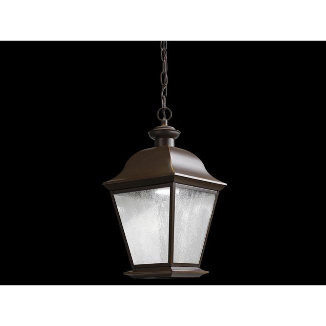 Mount Vernon 1 Light LED Outdoor Pendant  by Kichler