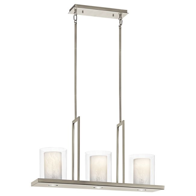 Triad Linear Chandelier  by Kichler