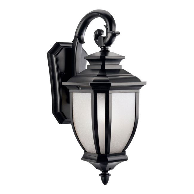 Salisbury Outdoor Hanging Lantern Wall Sconce  by Kichler
