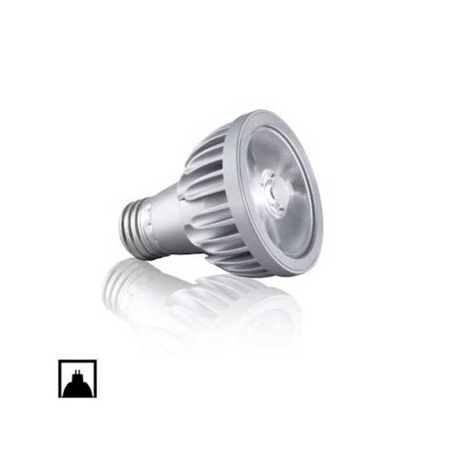 Vivid PAR20 LED Med Base 10.8W 120V 10 Deg 2700K 95CRI  by Soraa