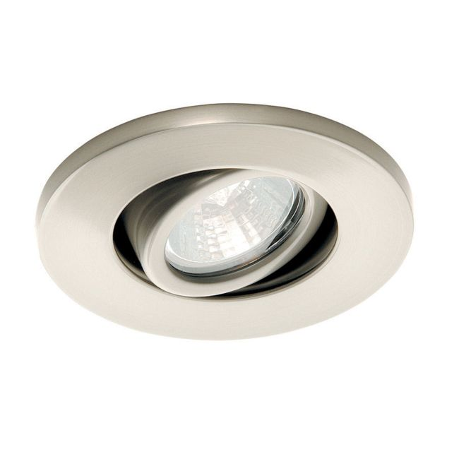 HR1137 Gimbal Ring Miniature Recessed Task Light by WAC Lighting | HR-1137-BN