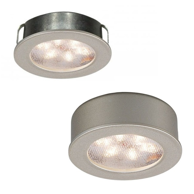 LEDme Round Recessed / Surface Button Light  by WAC Lighting