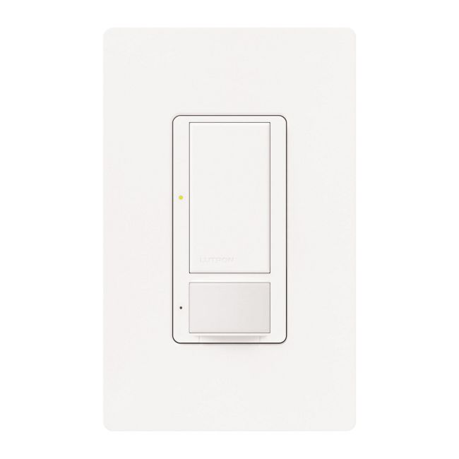 Maestro Single Pole Switch with Occupancy Sensor  by Lutron