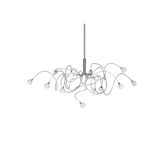 Snowball Chandelier  by Harco Loor