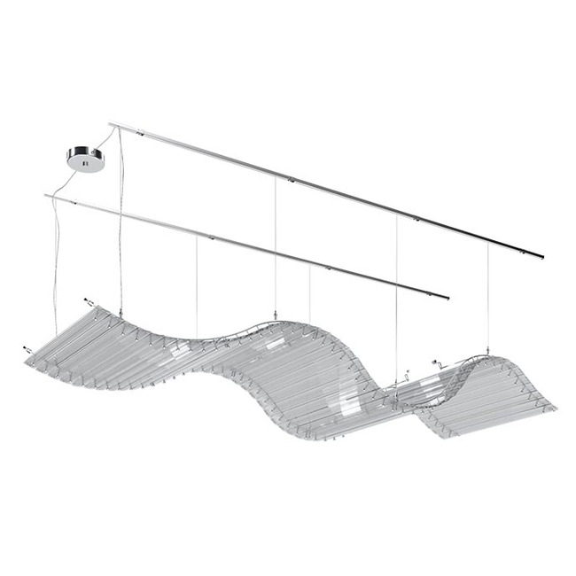 Tappeto Volante Linear Suspension  by Venini