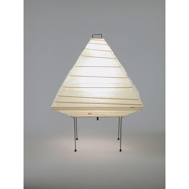 Pyramid Table Lamp by Akari   5X