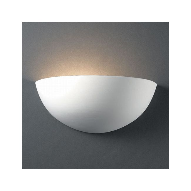 Quarter Sphere Wall Sconce  by Justice Design