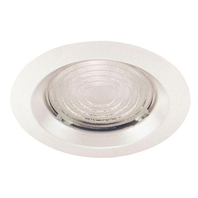 22 Series 6 Inch Fresnel Lens Shower Trim by Juno Lighting | 22WH