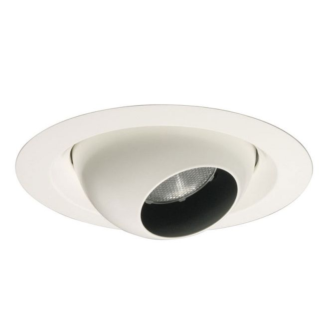 228 Series 6 Inch Regressed Eyeball Trim by Juno Lighting   228WH