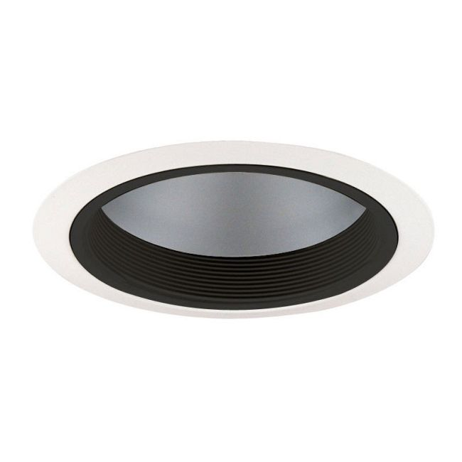 230 Series 6 Inch A-Lamp Reflector With Baffle Trim by Juno Lighting   230CBWH
