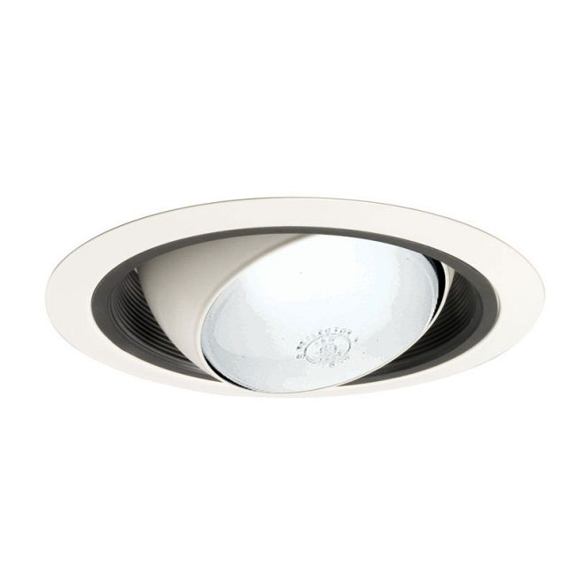 249 Series 6 Inch Regressed Eyeball Trim by Juno Lighting | 249BWH