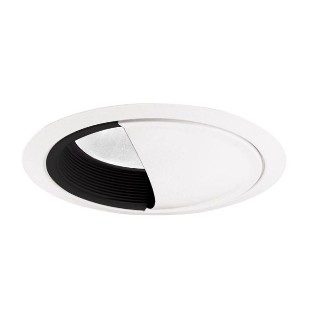 261 Series 6 Inch Scoop Wall Wash Trim by Juno Lighting | 261BWH