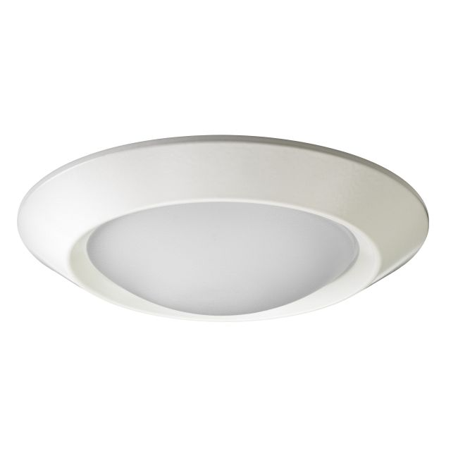 4101 Series 4 Inch Beveled Dome Lensed Shower Trim by Juno Lighting | 4101WH