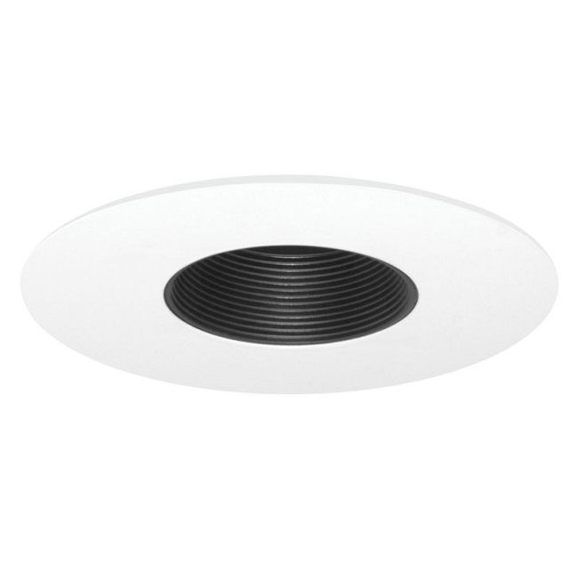 424 Series 6 Inch Low Voltage Pinhole Baffle Trim  by Juno Lighting | 424BWH