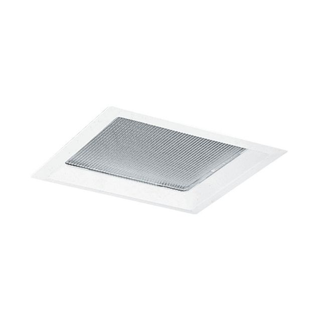 60 Series 8 Inch Square Crystal Diffuser Trim by Juno Lighting | 60WH