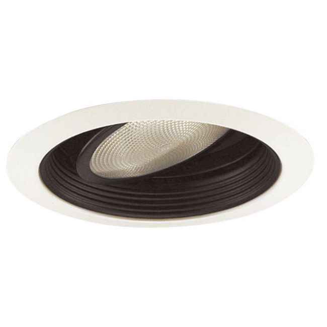 688 Series 5 Inch Gimbal Ring In Baffle Trim by Juno Lighting | 688BWH