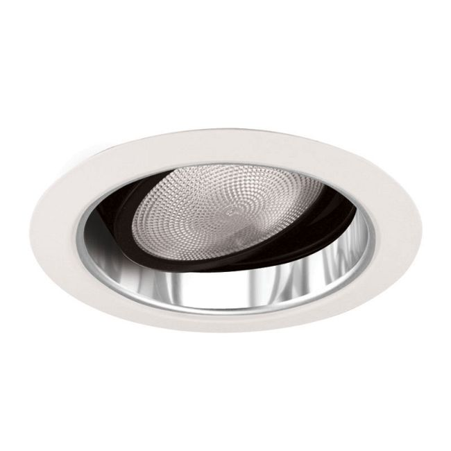 689 Series 5 Inch Gimbal Ring In Cone Trim by Juno Lighting | 689CWH