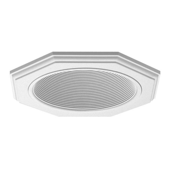 9024 Series 6 Inch Octagonal Trim by Juno Lighting | 9024WWH