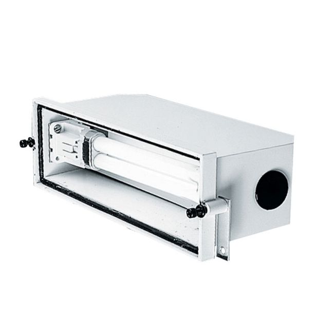 PL115 Outdoor CFL Rectangular Step Light Housing  by Juno Lighting