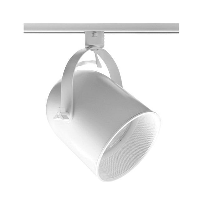 T328 PAR38 Round Back Cylinder Baffle Track Fixture 120V by Juno Lighting | T328WHBWH