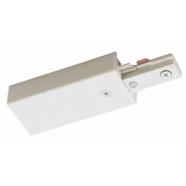 T38 Trac-Master End Feed Connector by Juno Lighting | T38WH