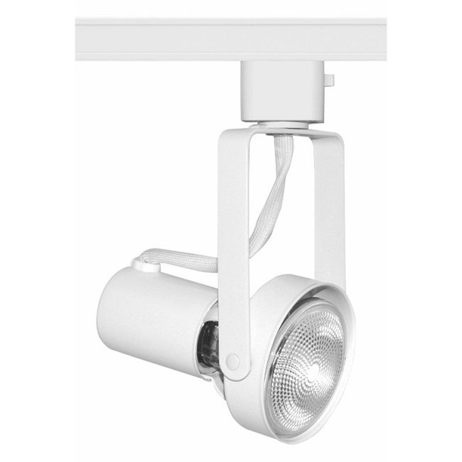 T687 PAR20 Front Lamp Gimbal Track Fixture 120V by Juno Lighting | T687WH