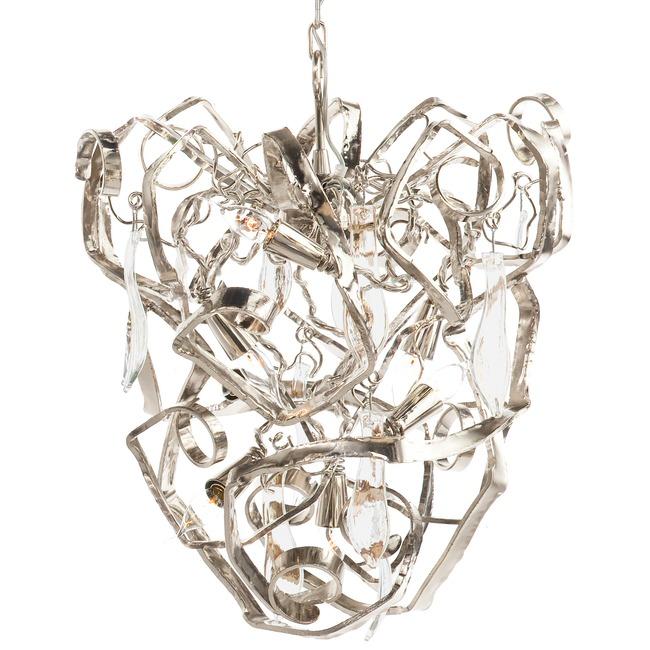Delphinium Conical Chandelier  by Brand Van Egmond