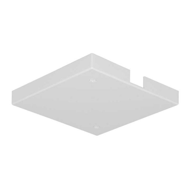 Trac 12 TL21 Outlet Box/T-Bar Ceiling Canopy by Juno Lighting   TL21WH