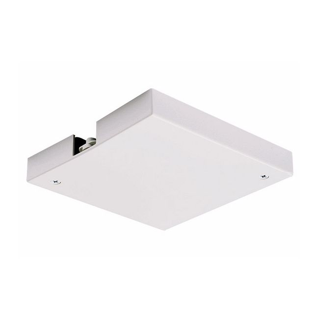 Trac 12/25 Outlet Box And T-Bar Ceiling Canopy by Juno Lighting | TLR36WH