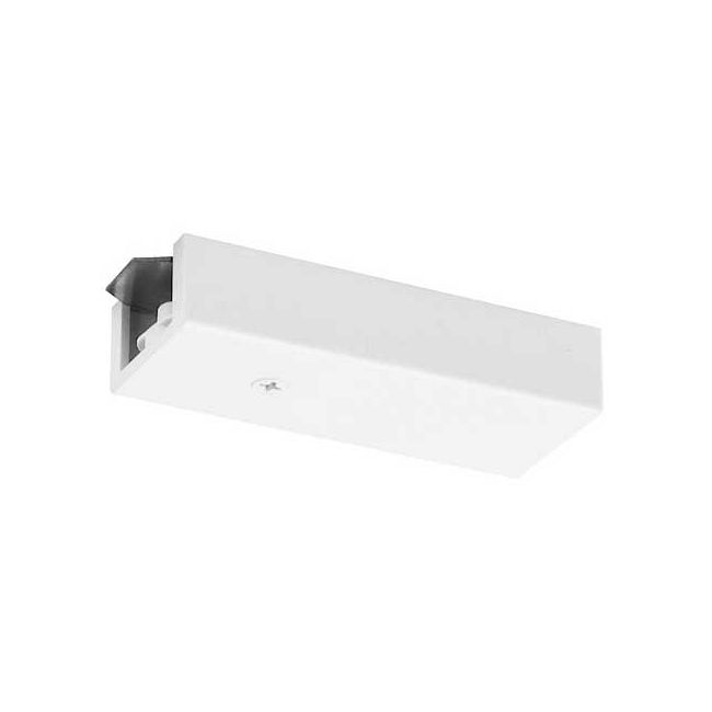Trac 12/25 End Feed Connector by Juno Lighting   TLR38WH