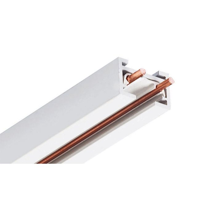 Trac 12/25 Miniature Low Voltage Track by Juno Lighting | TLVR6FTWH