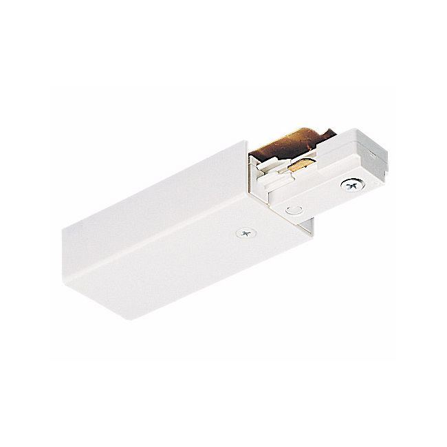 TU38 2-Circuit Trac End Feed Connector by Juno Lighting | TU38WH