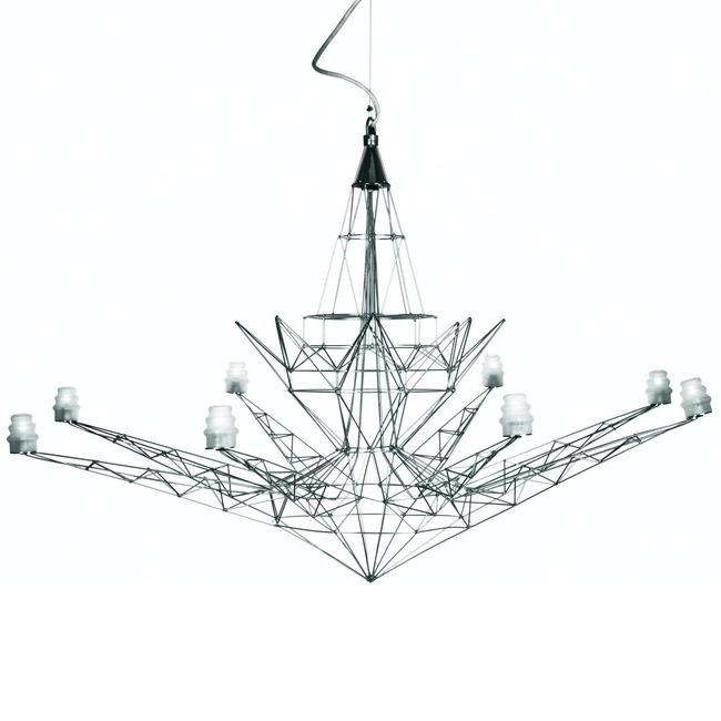 Lightweight Chandelier by Foscarini | 064007/3-ZIU