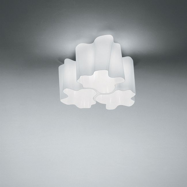 Logico Micro Triple Nested Ceiling Mount  by Artemide