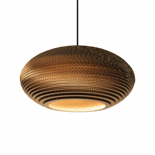 Disc Scraplight Pendant  by Graypants
