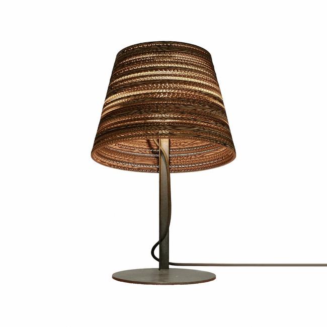 Tilt Scraplight Table Lamp  by Graypants