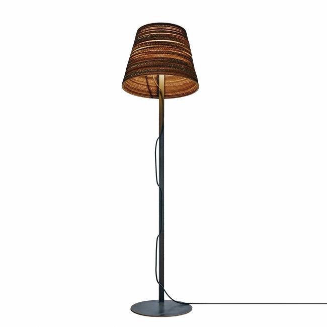 Tilt Scraplight Floor Lamp  by Graypants