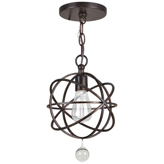 Solaris Ceiling Light Fixture  by Crystorama