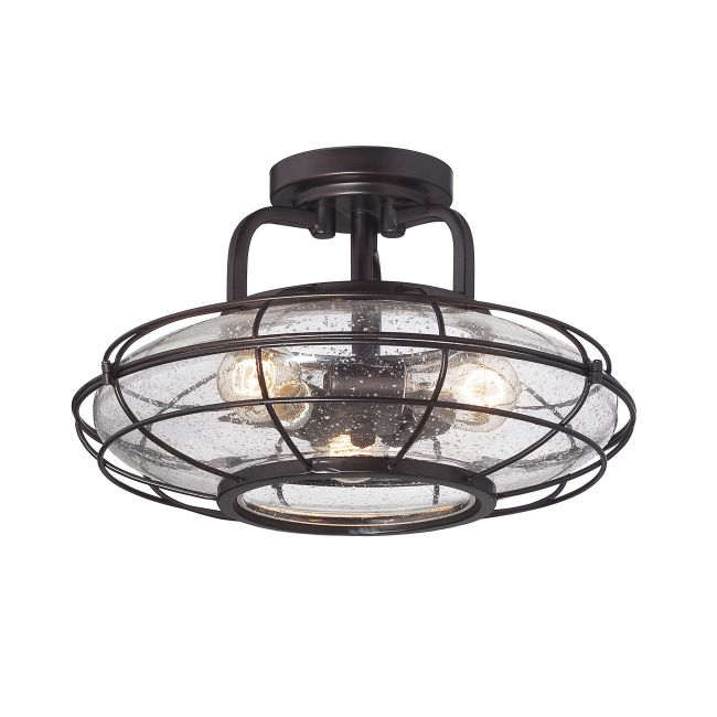 Connell Ceiling Semi Flush Light  by Savoy House